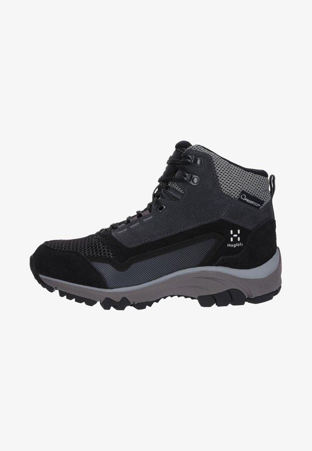 SKUTA MID PROOF - Hiking shoes - black/grey