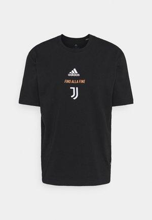 JUVENTUS SPORTS FOOTBALL SHORT SLEEVE - Vereinsmannschaften - black/white