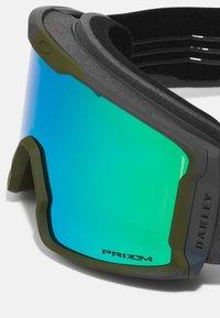 Oakley - LINE MINER - Ski goggles - green - 5