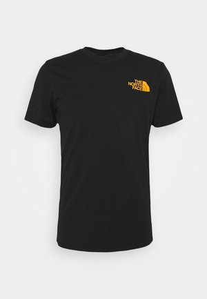 WALLS ARE MEANT FOR CLIMBING - Print T-shirt - black