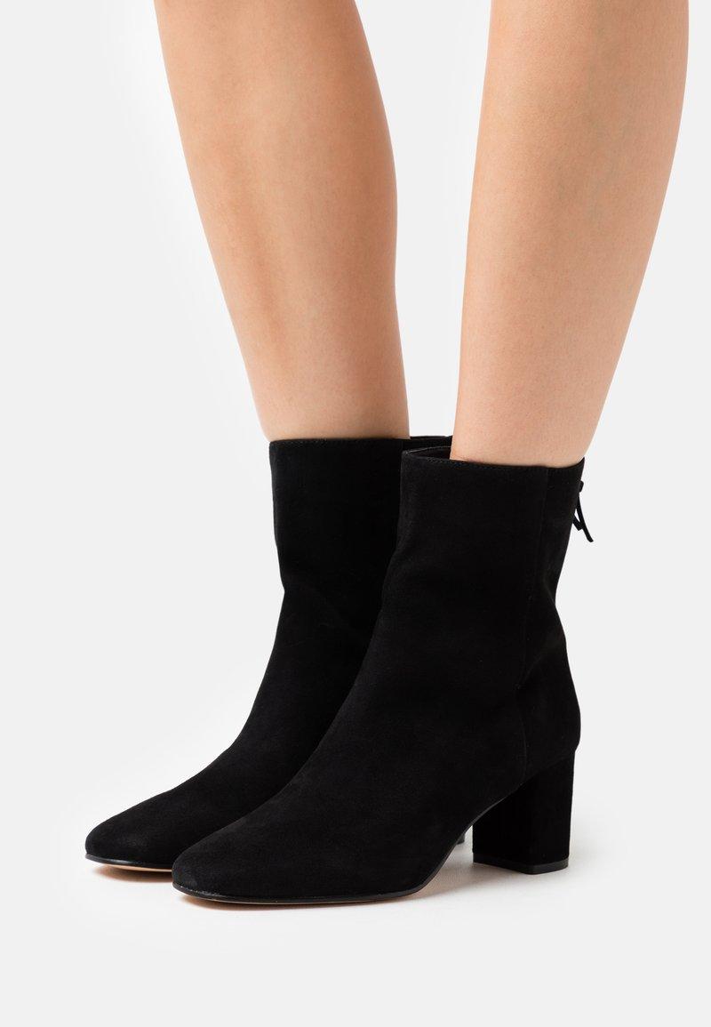 J.CREW - MINIMAL MCKAY - Classic ankle boots - black