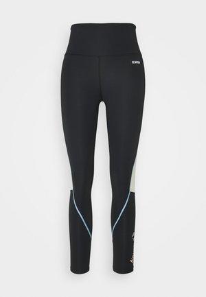 DRIBBLE LEGGING - Tights - black
