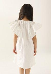 Rora - Korte jurk - white - 2