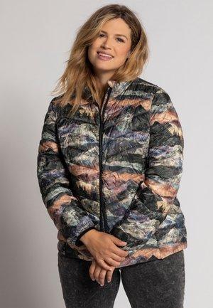 ULLA POPKEN  - Down jacket - grau-melange