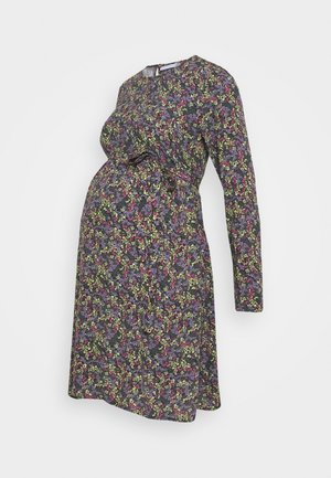 MLFELUCA SHORT DRESS - Jerseyjurk - black