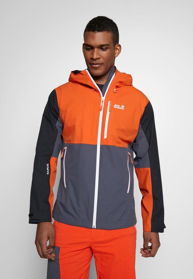 EAGLE PEAK  - Hardshell jacket - ebony