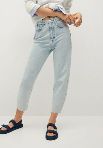 VILLAGE - Relaxed fit jeans - lichtblauw