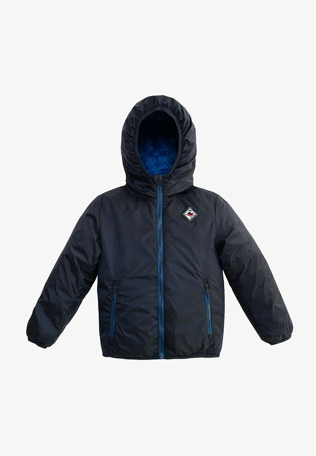 REVERSIBLE HOODED - Winterjas - navy