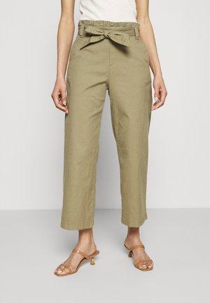 CULOTTE - Trousers - khaki