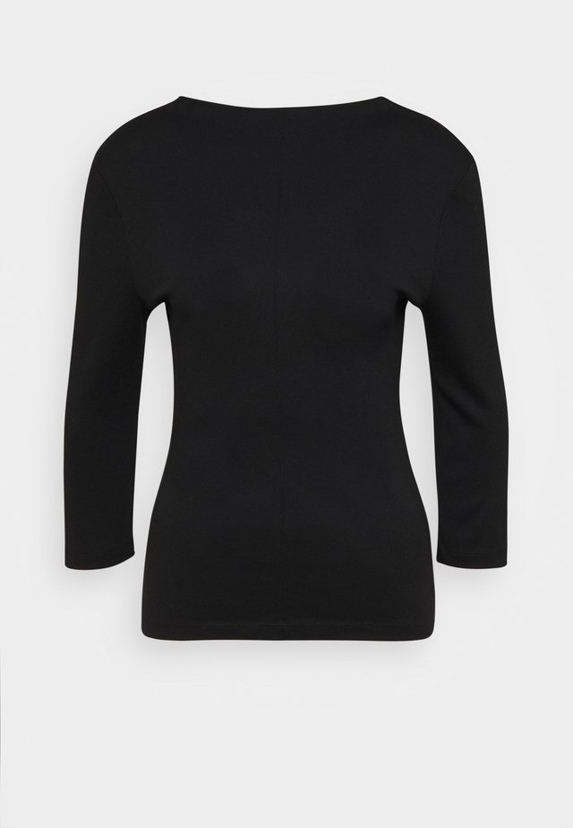 KEELI - Top sdlouhým rukávem - black
