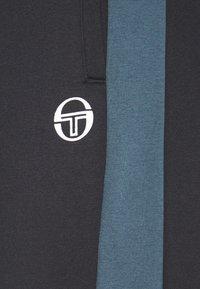 sergio tacchini - FIROZ PANTS - Tracksuit bottoms - black/botanical - 2