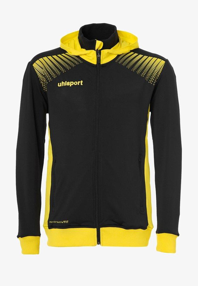 GOAL TEC - Training jacket - black/yellow