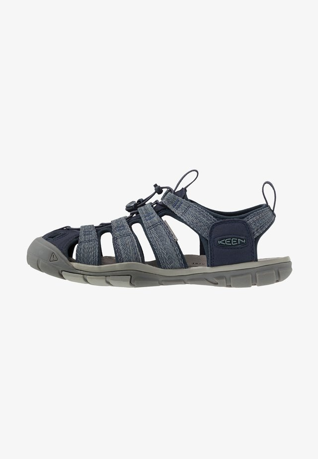 CLEARWATER CNX - Walking sandals - blue/steel grey