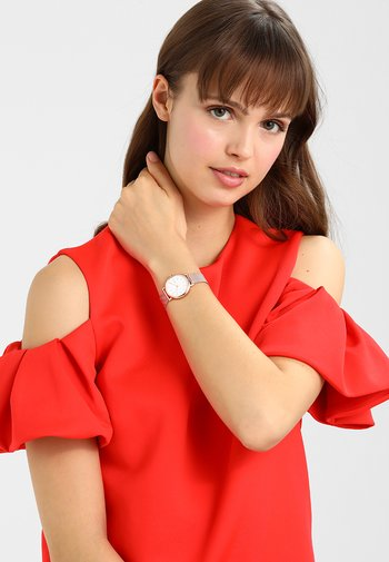 SIGNATUR - Watch - rosé gold-coloured