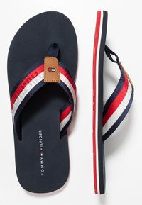 Tommy Hilfiger - CORPORATE BEACH - T-bar sandals - blue - 1