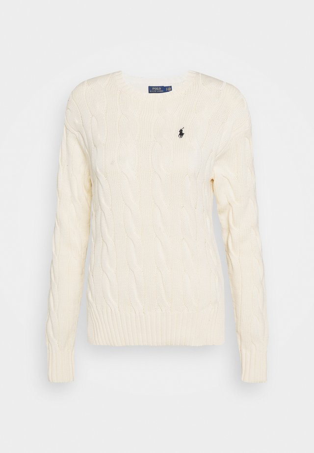 LONG SLEEVE - Strickpullover - croquet cream