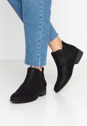 YATES - Korte laarzen - black