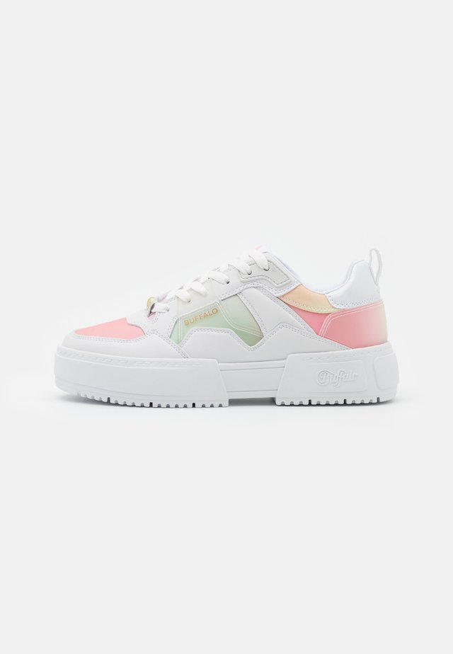Sneakers laag - white/multicolor