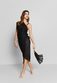 LASCANA - PAREO - Wrap skirt - schwarz - 1