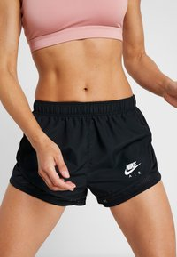Nike Performance - TEMPO SHORT AIR - Sports shorts - black/white