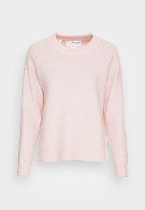 SLFLULU O NECK - Jumper - chalk pink