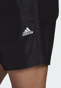 adidas Performance - SOLID CLASSICS SL PRIMEGREEN SWIM SHORTS - Swimming shorts - black - 4