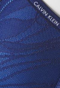 Calvin Klein Underwear - SHEER MARQ TROPICAL LIGHTLY LINED DEMI - Kaarituelliset rintaliivit - patriotic blue - 2