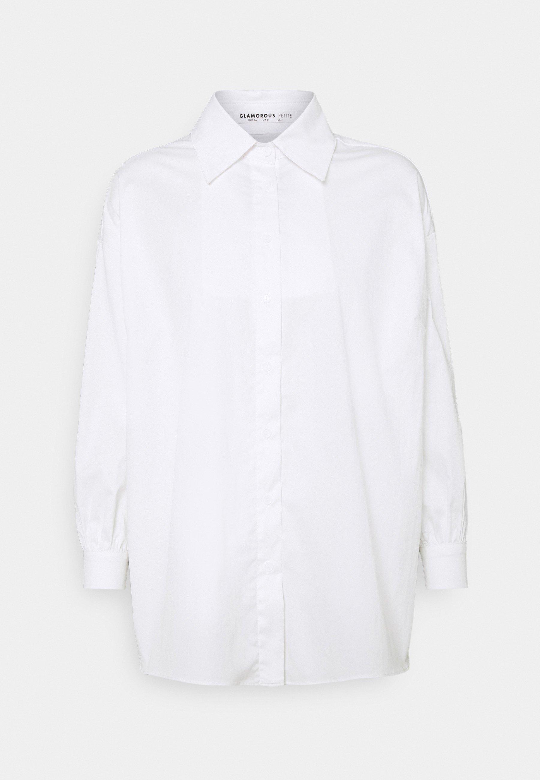 Women STRUCTURED PUFF NECKLINE - Shirt dress