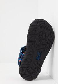 Jack Wolfskin - SEVEN SEAS 3 UNISEX - Chodecké sandály - blue/orange - 5