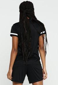 adidas Performance - TEAM 19 - Triko spotiskem - black/white - 2
