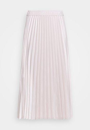 ADHRA SKIRT - Falda plisada - beige