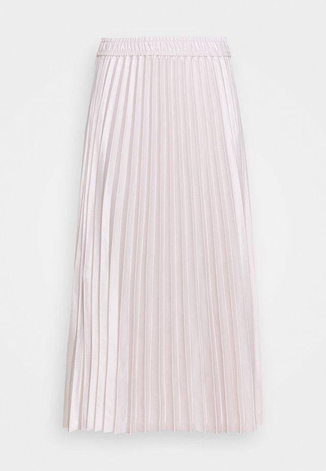 ADHRA SKIRT - Jupe plissée - beige