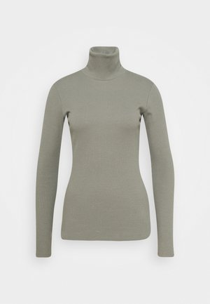 ROLLNECK - Long sleeved top - dark army