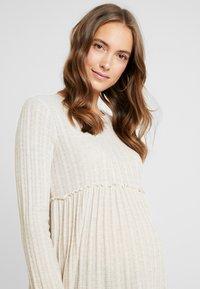 New Look Maternity - LOUNGE LETTUCE EDGE - Strikpullover /Striktrøjer - cream - 4