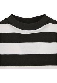 Urban Classics - STRIPE - T-shirt print - black/white - 6