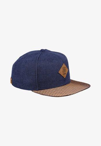 GLENCHECK - Cap - navy