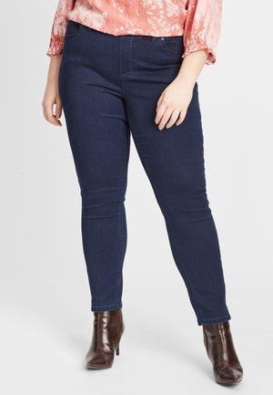 Slim fit -farkut - dark-blue denim