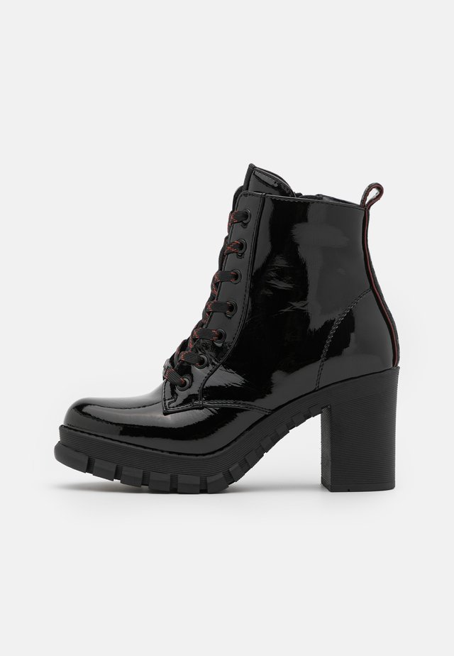 MAJESTY - High heeled ankle boots - black