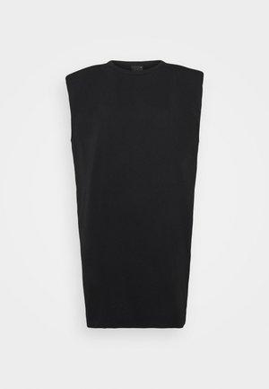 FRAN DRESS - Korte jurk - black