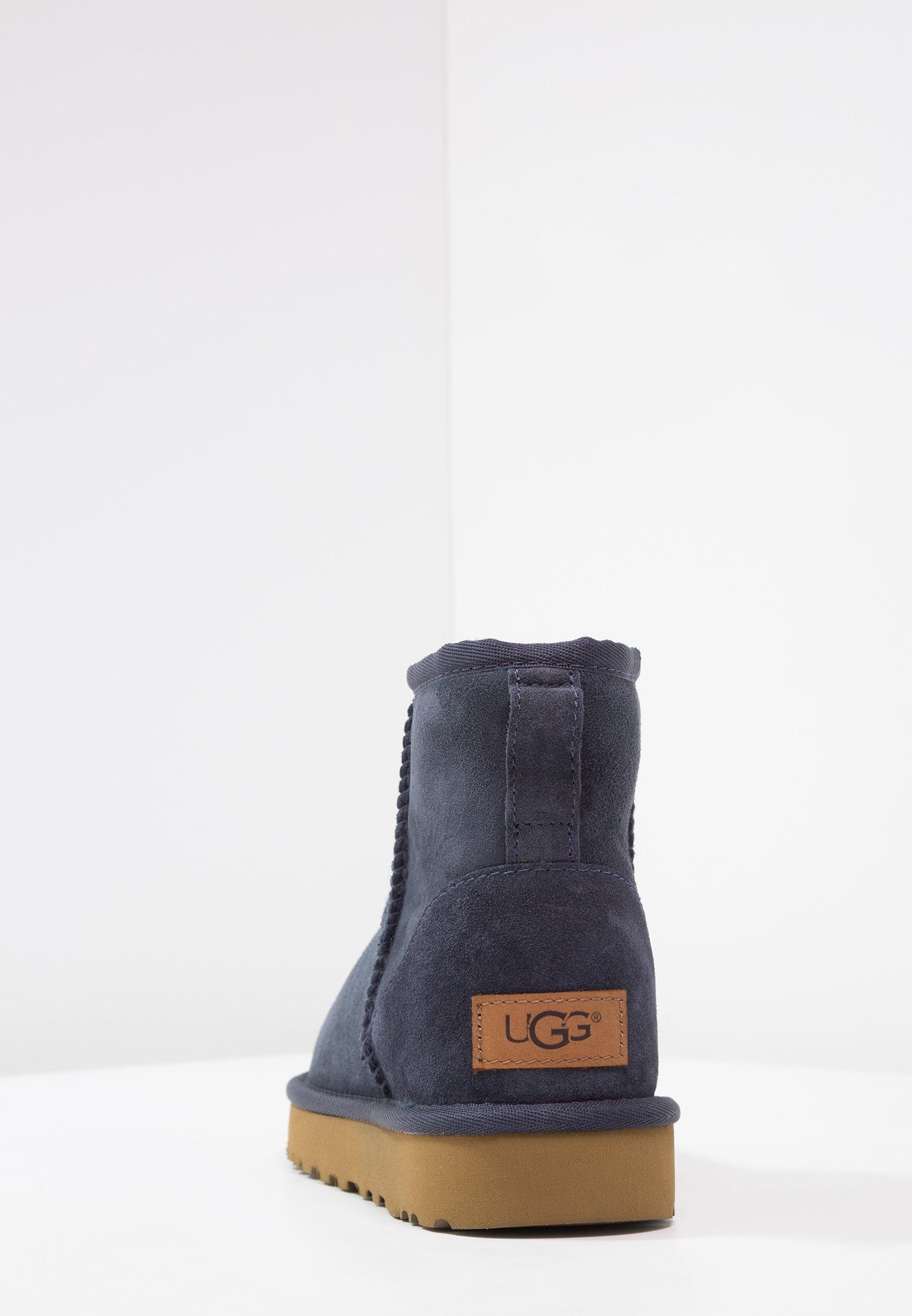 Ugg Classic Mini Ii - Stiefelette Navy/dunkelblau
