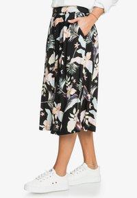 Roxy - NIGHT TIME - A-line skirt - anthracite large praslin - 3