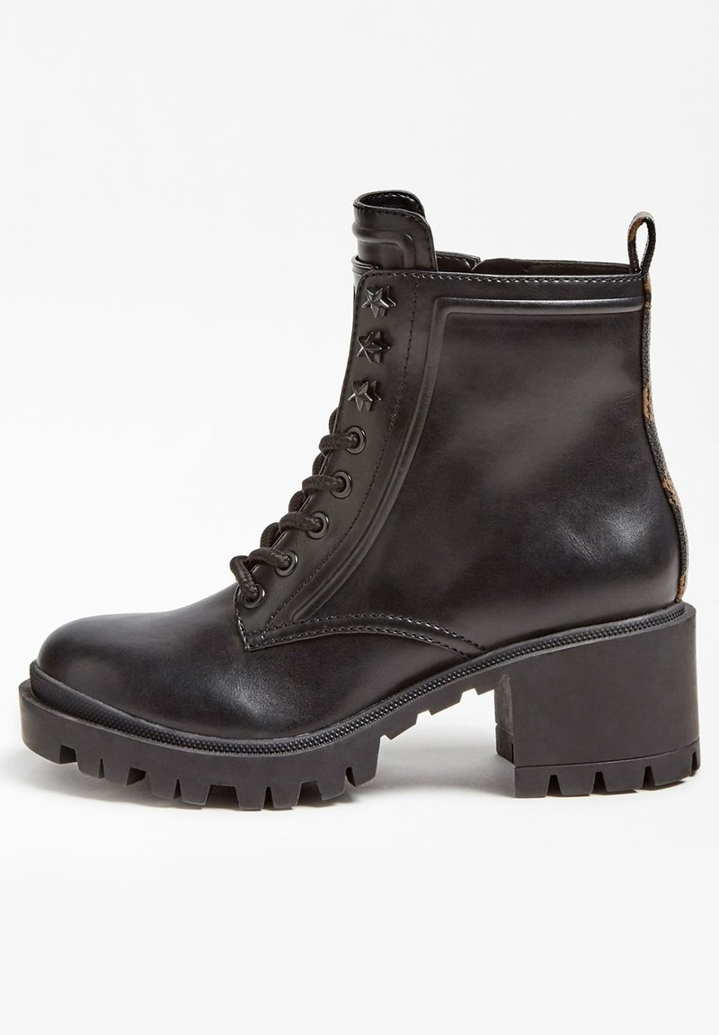 Guess - Lace-up ankle boots - schwarz
