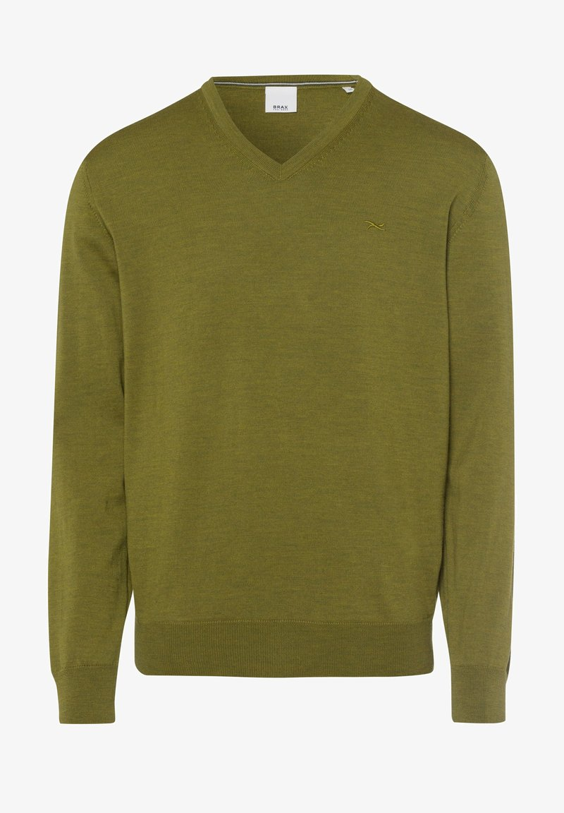 BRAX STYLE VICO - Strickpullover - curry/sand o19SgW