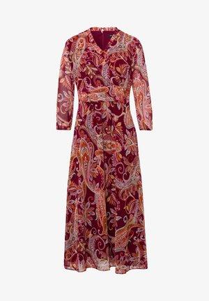 Day dress - dunkelrot