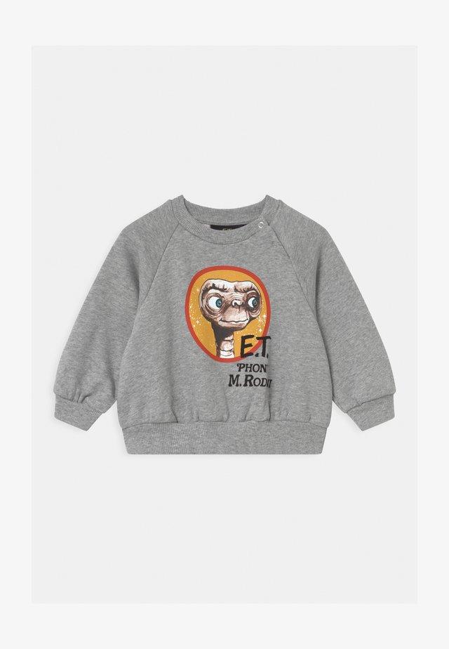 E.T. RAGLAN UNISEX - Sweater - grey melange