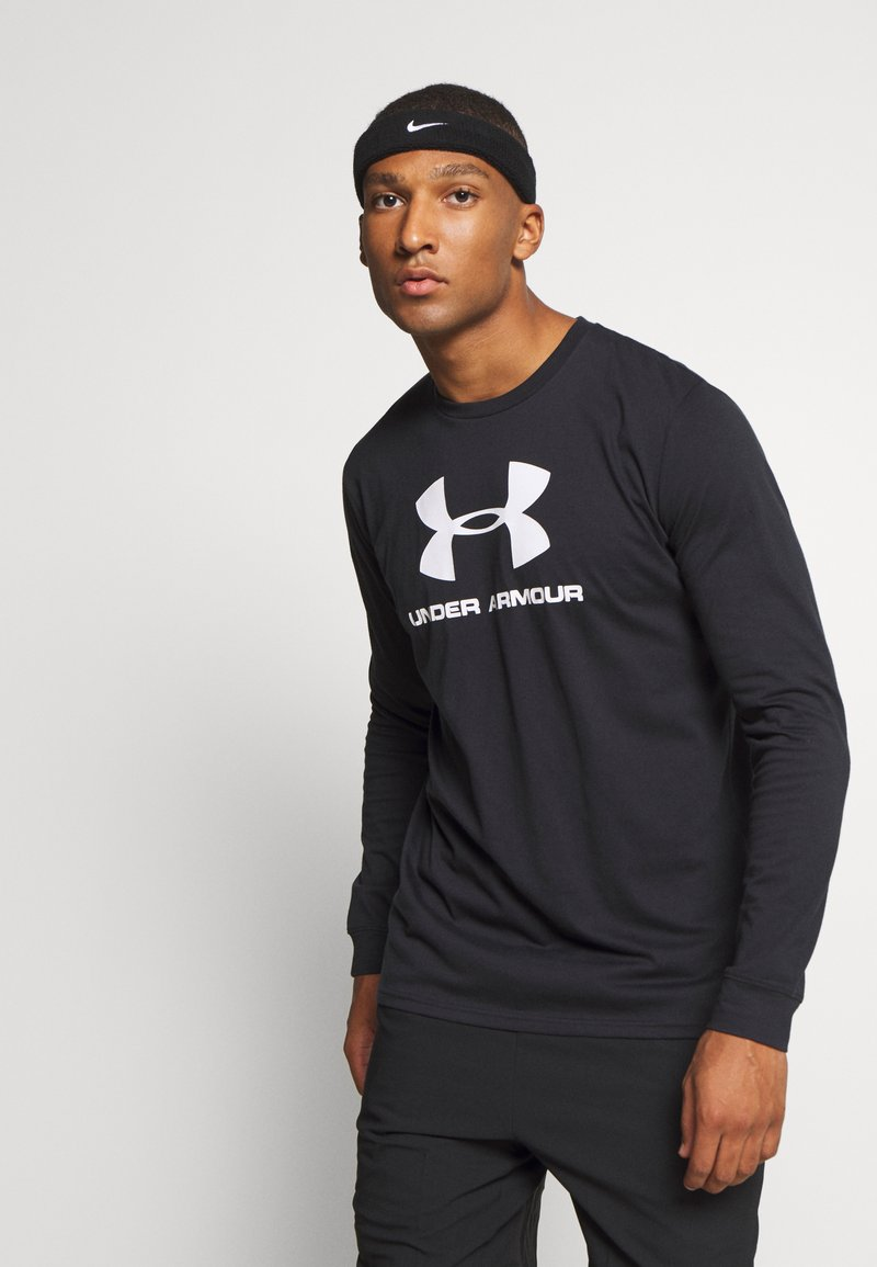 Under Armour - SPORTSTYLE LOGO - T-shirt de sport - black
