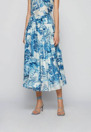A-line skirt - patterned