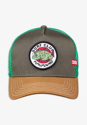 Cap - olive/wheat/green
