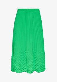 ONLY - MIDIROCK PLEATED - A-line skirt - kelly green - 4