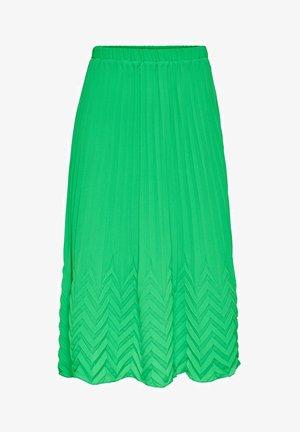 MIDIROCK PLEATED - A-line skirt - kelly green